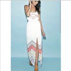Kendall  & Kylie maxi dress